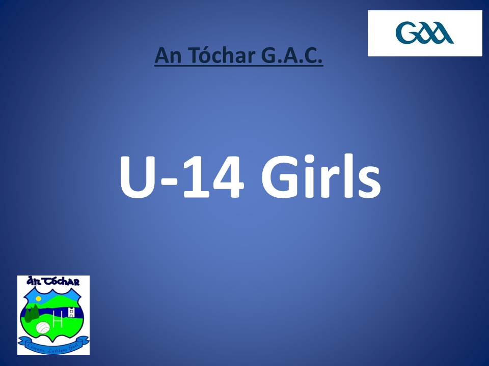 U 14 Girls
