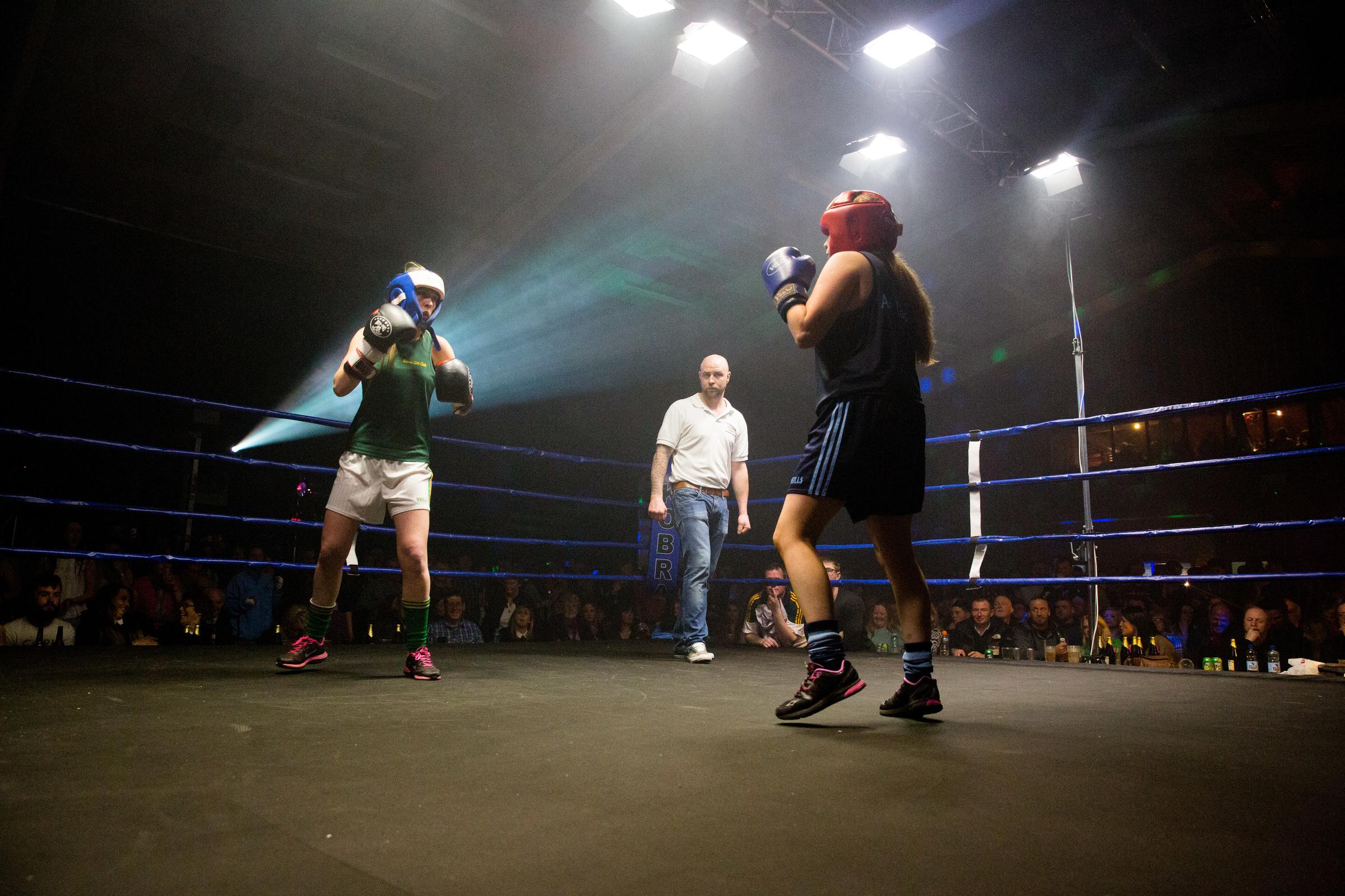 Parish Punch Up - An Tochar GAA Vs Kilmacanogue GAA Pic: Angela Halpin